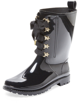 RED Valentino Star Lace-Up Rain Boot