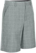 Greg Norman for Tasso Elba Men's Windowpane Golf Shorts