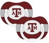 Baby Fanatic 2 pack Pacifiers - Texas A & M