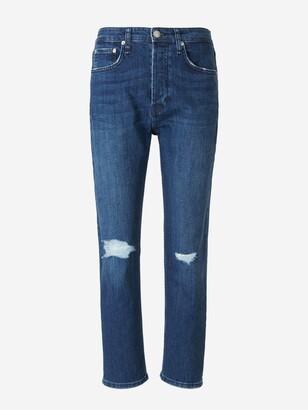 Rag & Bone Maya Distressed Slim-Fit Jeans