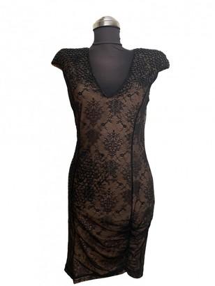 Patrizia Pepe Ecru Lace Dress for Women