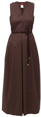Max Mara Bruna Dress - Womens - Brown