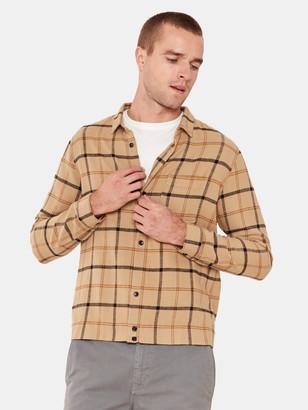 BHLDN Dodd Plaid Button Up Shirt