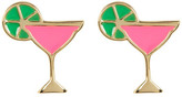 Ariella Collection Martini Earrings
