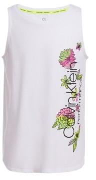 Calvin Klein Big Girls Floral Tank Top