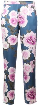 Fleur Du Mal Floral Pajama Trousers