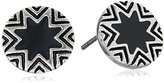 House Of Harlow Mini Sunburst Stud Earrings ,Silver/Grey