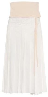MONCLER GENIUS 2 MONCLER 1952 cotton-blend skirt