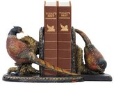Sterling Home 91-3722 Pair of Bookends, Autumn Pheasants, 6-1/4-Inch Tall