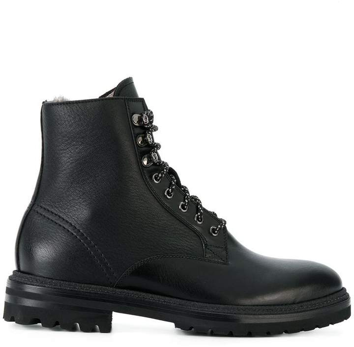 Fabi lace-up boots
