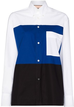Plan C Colourblock Shirt