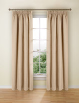 Marks and Spencer Bantry Weave Pencil Pleat Curtains