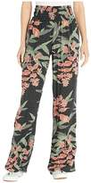 O'Neill Johnny Floral Beach Pants (Black) Women's Casual Pants