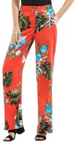 Vince Camuto Women's Havana Tropical Wide Leg Pants