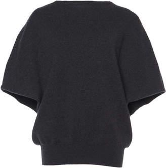 Agnona Merino Wool Cape Sweater