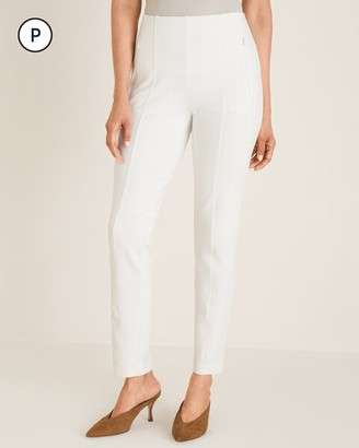 So Slimming Petite Juliet Seamed Ankle Pants