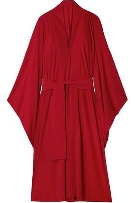 Norma Kamali Oversized Stretch-jersey Robe