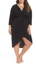 LaBlanca Plus Size Women's La Blanca Cocoon Cover-Up Dress