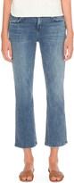 Current/Elliott The Kick slim-fit mid-rise jeans