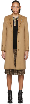 Burberry Brown Bramley Coat