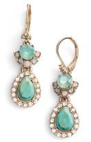 Marchesa Women's Paradise Double Drop Earrings