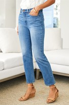The Ultimate Straight Cropped Jeans