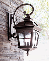 Horchow Colonial Three-Light Wall Lantern