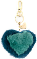 Twin-Set heart charm keyring