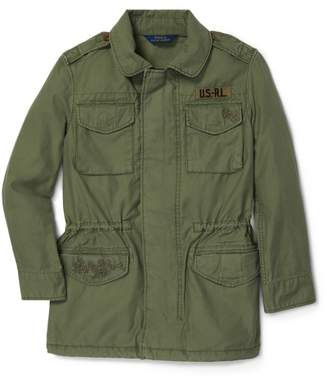 Ralph Lauren Embroidered Military Jacket
