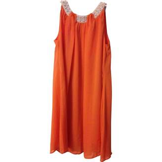 Darling Orange Dress for Women