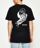 Santa Cruz Dressen Hand T-Shirt Black