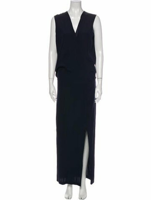 Zero Maria Cornejo Silk Long Dress w/ Tags Blue