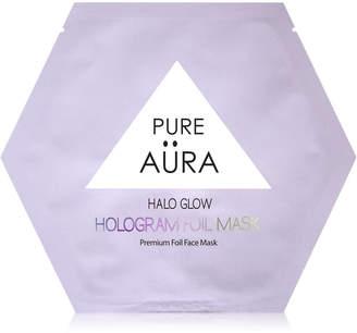 Pure Aura Halo Glow Hologram Foil Mask