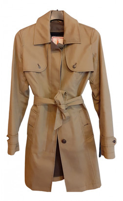Baracuta Camel Cotton Trench coats