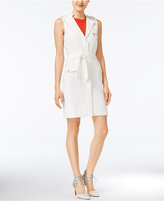 Bar III Belted Utility Dress, Only at Macy's