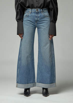 KHAITE Noelle 5 Pocket Wide Leg Jean