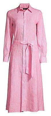 Polo Ralph Lauren Women's Striped Linen Shirtdress