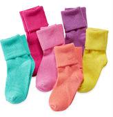 JCPenney Okie Dokie 6-pk. Bobby Socks - Toddler Girls