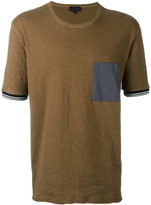 Lanvin contrast chest pocket T-shirt - men - Cotton - M