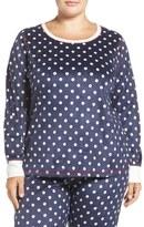 PJ Salvage Fleece Lounge Pullover (Plus Size)