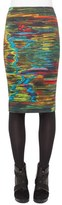 Akris Punto 'Northern Lights' Print Stretch Jersey Pencil Skirt