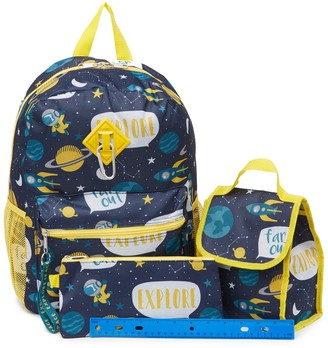 Space Print Backpack, Lunch Bag, & Pencil Bag Set