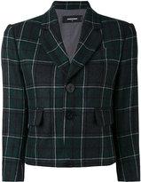 DSQUARED2 Tartan check cropped blazer