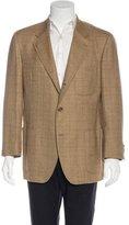 Loro Piana Plaid Wool Sport Coat