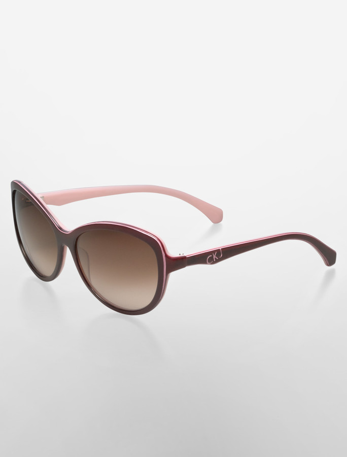 Calvin Klein Jeans Cat Eye Sunglasses