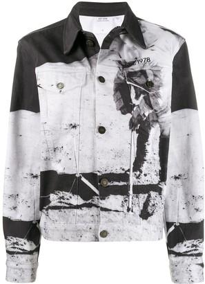 Calvin Klein Jeans Est. 1978 Moon Landing denim jacket