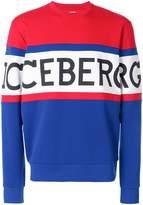 Iceberg front logo sweatshirt
