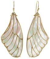 Annette Ferdinandsen Pampian Wing Earrings - White Pearl