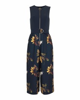 Ted Baker Birgiit Savanna Zip Front Jumpsuit