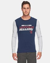 Mossimo Cardinal Long Sleeve Tail Tee